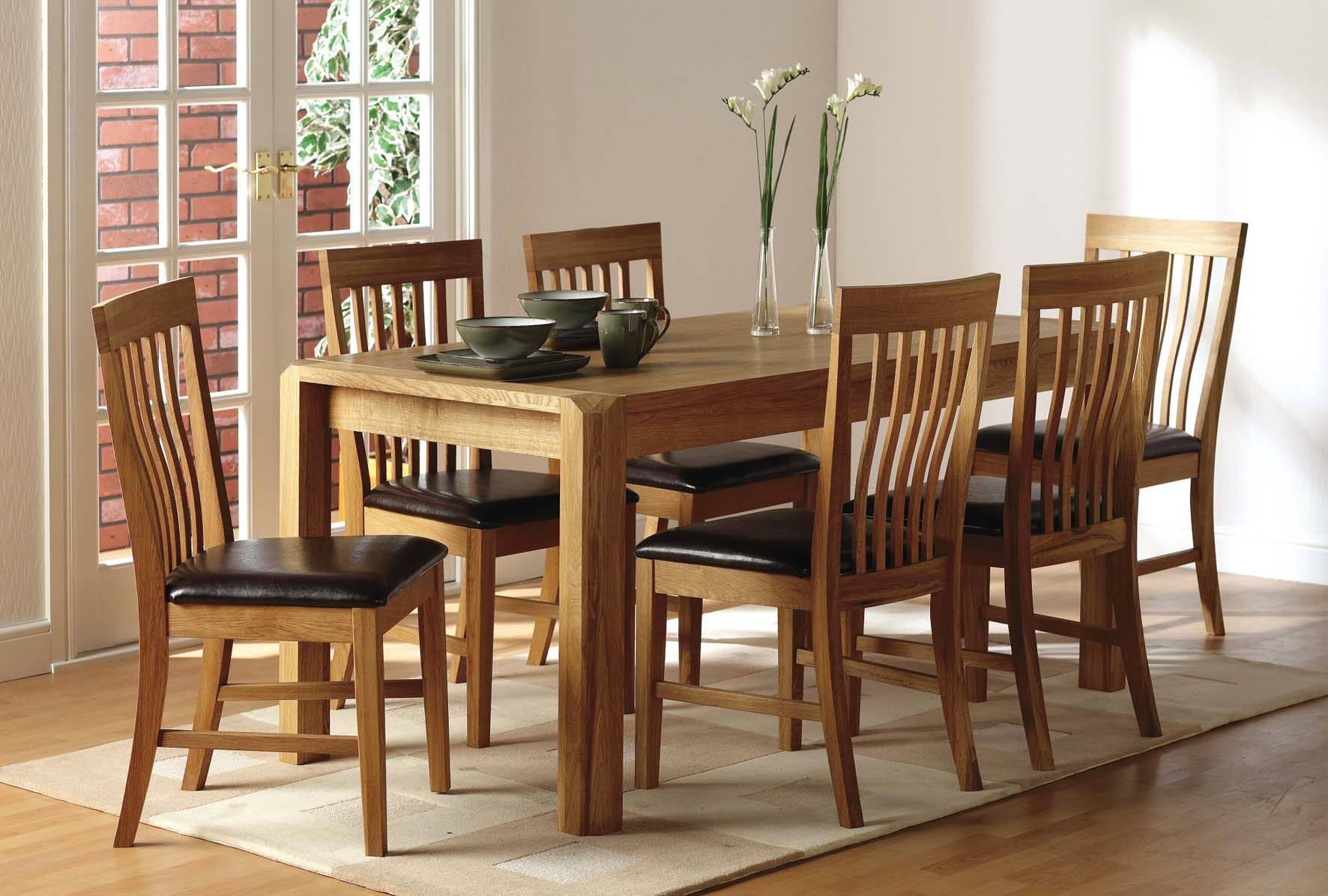 Country dining set for Dinette sets