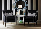 Plush Wing Chair