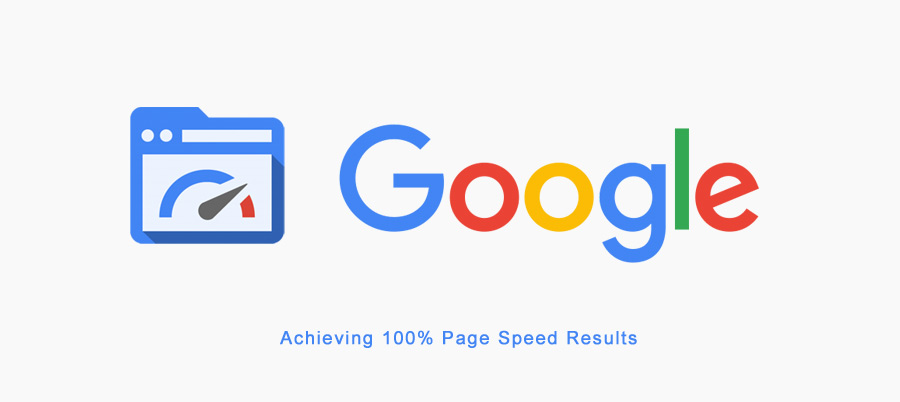 page speed results