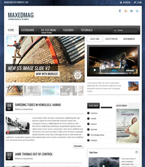 Joomla Template Preview