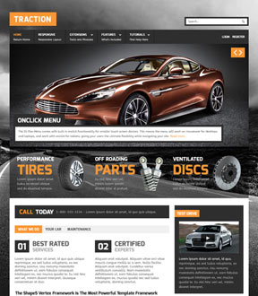 Traction - Shape5 April Joomla Template