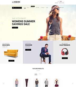 Store PRO joomla template from http://www.shape5.com