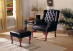 Leather Wing Chair