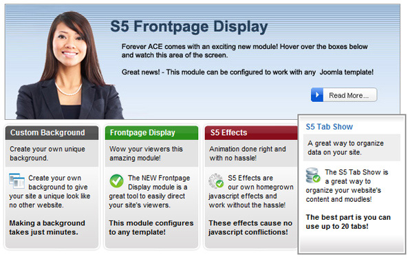frontpage display preview